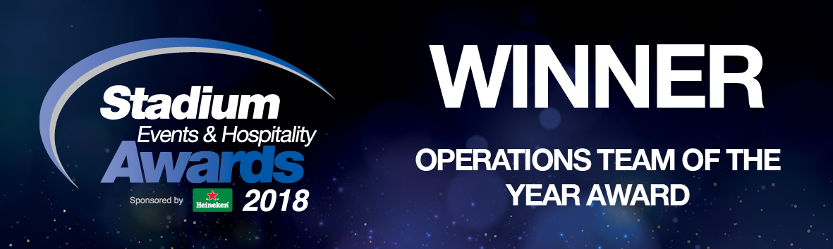 Winner - Operations Team Of The Year 2018